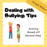 Activity: 5 Tips for Dealing with Bullying : Google Slides