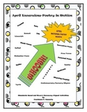 Poetry Activity: April Excursions-Poetry in Motion