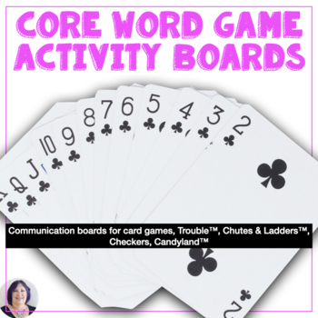 Activity Based Communication Boards for Games for AAC Users