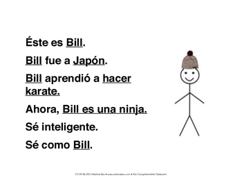 Activity: Be like Bill meme activity for language classes