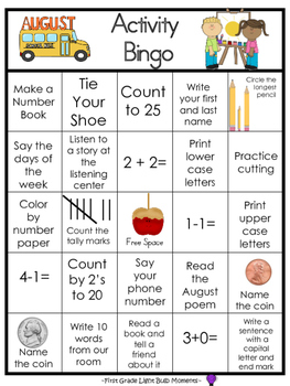 Monthly Bingo Activity Boards - Bundle