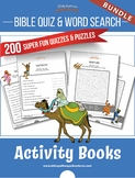 BUNDLE: 200 Bible Quizzes and Word Search Puzzles