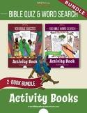 BUNDLE: Bible Quizzes & Word Search Activity Books