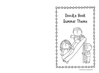 Activity Book:  Doodle Book Summer Theme