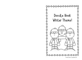 Activity Book:  Doodle Book Winter Theme