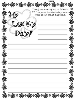 """Activity Booklet for """"The Luckiest St. Patrick's Day Ever"""" by Teddy Slater"""