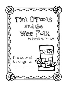 "Activity Booklet for ""Tim O'Toole and the Wee Folk"" by Gerald McDermott"