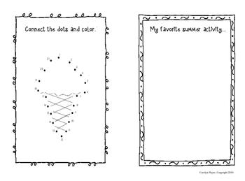 Activity Books:  Four Seasons Doodle Books