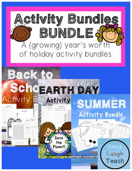 Activity Bundles Bundle