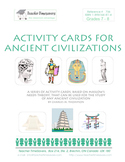 Activity Cards for Ancient Civilizations