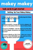 Activity Cards for Makey Makey Set Up