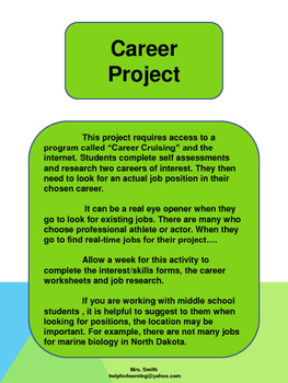 Activity: Career Project