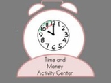 Time and Money Activities Center