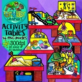 Activity Centre Clip Art {for Play Based Learning Classrooms}