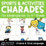 Activity Charades, Drama and Oral Language Activity
