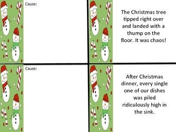 Activity Christmas Build A Story Writing Centers