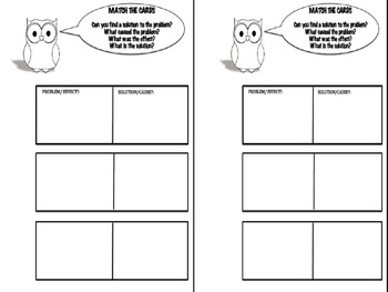 Activity Christmas Cause and Effect Game for Reading Comprehension