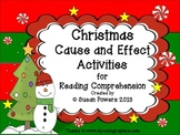 Activity Christmas Cause and Effect Game for Reading Compr