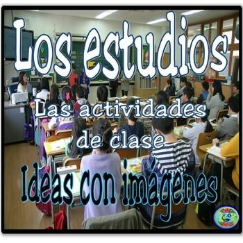 Class and Study Activity Images - Imágenes de la clase y los estudios