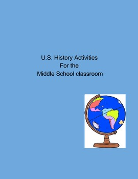 Activity Collection for the US History Classroom