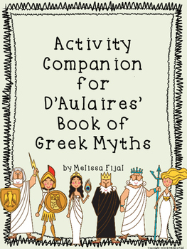 Activity Companion for D'Aulaires' Book of Greek Myths   TpT