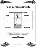 First Day Writing Activity - Four Corners