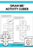 Activity Cubes: Pre-writing resource
