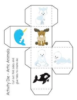 Activity Die - Arctic Animals