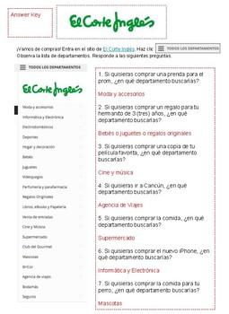 Activity-El Corte Inglés Clothing