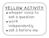 Activity Expectation Posters