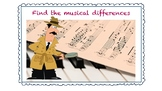 "Activity ""Find the musical differences"""