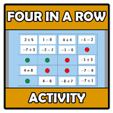 Activity - Four in a row (available with Flashcards sets)
