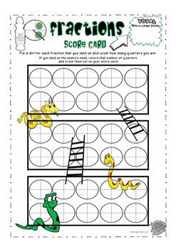 Activity Game for Improper Fraction Addition