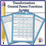 Transformations of Parent Functions: Activity