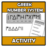 Activity - Greek number system