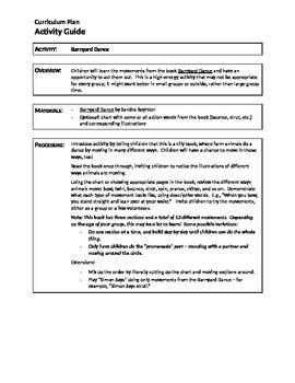 Activity Guide: Barnyard Dance