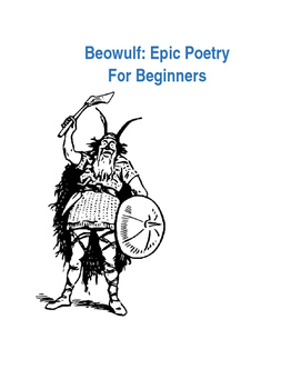Beowulf Guide for Middle Grades