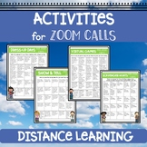 Activity Ideas for Zoom Calls or Google Meetings - Distanc