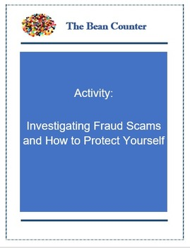 Activity - Investigating Fraud Scams