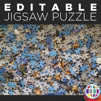 EDITABLE Jigsaw Puzzle