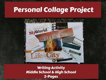 Writing Activity: Personal Collage Project