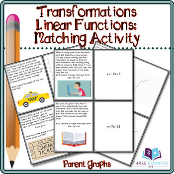 Activity: Linear Function Transformations