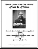 Martin Luther King Day Activity: Dare to Dream