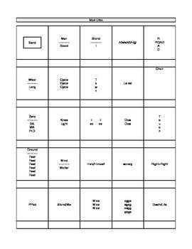 Activity - Rebus Puzzles