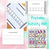 Activity Mat: I Can Spell My Name