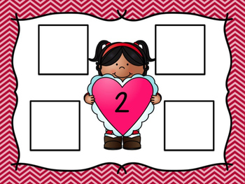 Math Activity Mats: Sweet Heart Subtraction