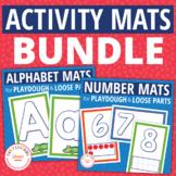 Playdough Mats Bundle | Activity Mats for Play dough and Loose Parts