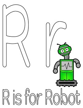 Robot Activity Mats for Literacy Development and Math Skills