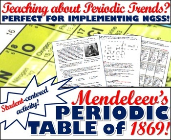 Activity mendeleevs periodic table of 1869 by msrazz chemclass activity mendeleevs periodic table of 1869 urtaz Choice Image