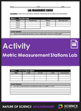 Activity - Metric Measurement Stations Lab